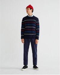 Thinking Mu Trousers - Travel Azul