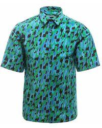 Ferragamo Shirt 140932748591 - Blauw