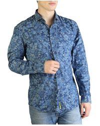 Yes-Zee Shirt C505_ua00 - Blauw