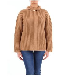 Loewe D3299100co Sweater - Bruin