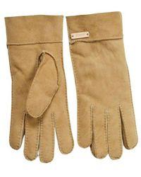 Sessun Page Lambskin Gloves - Naturel