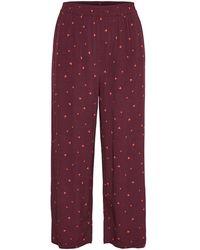 Gestuz Pantaloni - Rosso