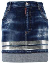 DSquared² Skirt - Blauw