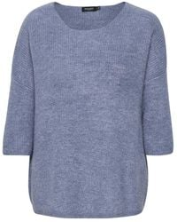 Soaked In Luxury Tuesday Jumper - Blauw
