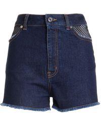 Just Cavalli Shorts - Blauw
