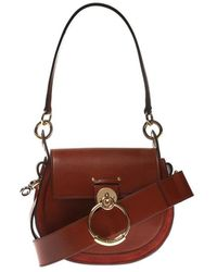 Chloé Tess Shoulder Bag - Bruin