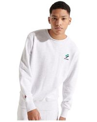 Superdry Sportstyle Essential Crew 20 - Wit