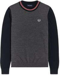 Fred Perry Sweater - Gris