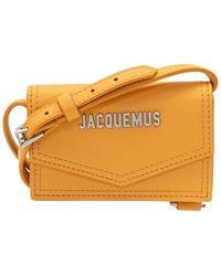 Jacquemus Le Porte Azur Shoulder Bag - Oranje