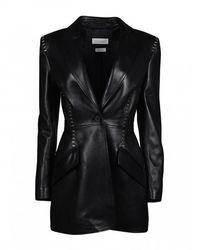 Alexander McQueen - Leather Jacket - Lyst
