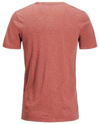 Jack & Jones T-shirt Printed Naranja