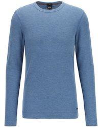 BOSS Orange Tempest sweater- 50401846-489 - Bleu
