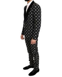 Dolce & Gabbana Slim Fit Suit - Gris