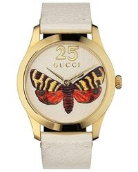 Gucci G-timeless watch - Weiß
