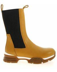 Erika Cavallini Semi Couture Boots - Orange
