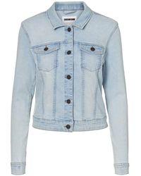 Noisy May Denim Jacket - Blauw