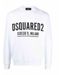 DSquared² Ceresio 9 Cool Sweater - Wit