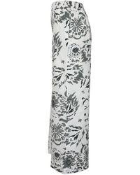 Gran Sasso - Pantaloni 76202/61252 Blanco - Lyst