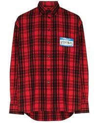 Vetements Shirt - Rood