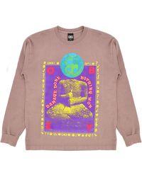 Obey Damage Done Sweatshirt - Roze