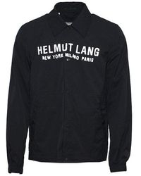 Helmut Lang Stadium Jacket - Nero