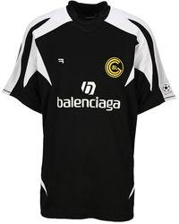 Balenciaga T-shirt 641665tjv05 - Zwart