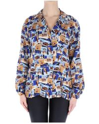 Xacus Kate/45525 blouse - Blau