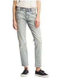 Denham Jeans Loose Fit - Grau