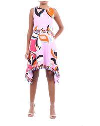 Emilio Pucci 0ejh510e727 Multicolor Dress - Roze
