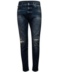 7 For All Mankind Jsd4U44Eao Ronnie Jeans - Bleu