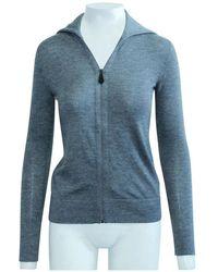Hermès Suéter de cachemira usado condición excelente Gris