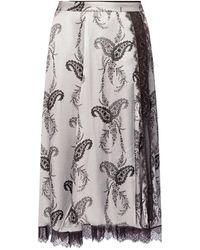 AllSaints - 'Nysa' skirt - Lyst