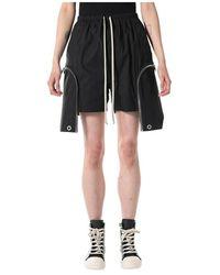 Rick Owens Bauhaus Boxer Shorts - Zwart