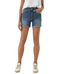 Salsa Shorts Push Up In Secret Glamour - Blau