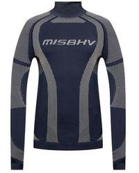 MISBHV Sport Active Classic long-sleeved T-shirt - Blau