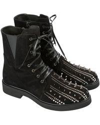 Loriblu Ankle Boot With Studs - Zwart