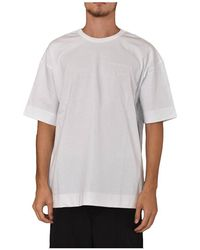 Juun.J - T-shirt Girocollo Con Logo - Lyst