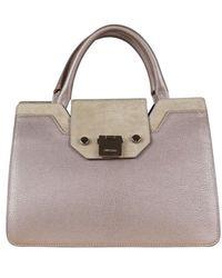 Jimmy Choo Medium Riley handbag - Neutre