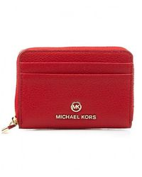 Michael Kors Coin Card Case - Rood