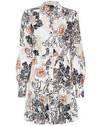 Pinko Shirt Dress - Naturel