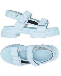 Ganni Sandal - Blauw