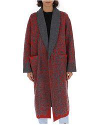 Missoni - Animal Print Cardi-coat - Lyst