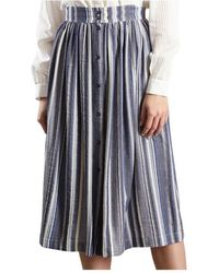 Sessun Tindaya Skirt - Blauw