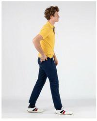 El Ganso Polo Sleeve Amarillo