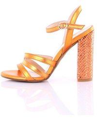 Chiarini Bologna A68Luxor With heel sandals - Orange