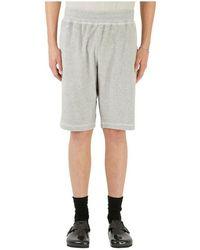 Helmut Lang Towel Shorts - Grijs