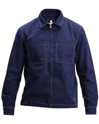 Edwin Sten Zip Jacket - Blauw