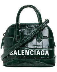 Balenciaga Ville Shoulder Bag - Groen
