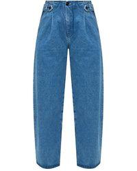 Samsøe & Samsøe High-waisted jeans - Blu