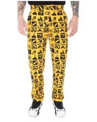 Obey Men's Hardwork Chaos Pant Pants 142020136 - Geel
